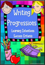 Writing Progressions | Learning Intentions & Success Criteria