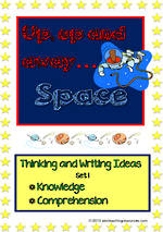Space | Critical & Creative Thinking |  Writing Prompts | Set 1