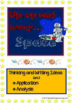 Space   Critical & Creative Thinking   Writing Prompts   Set 2