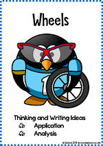 Wheels | Critical & Creative Thinking | Writing Prompts | Fluent Writers | Set 2