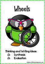 Wheels | Critical & Creative Thinking | Writing Prompts | Fluent Writers | Set 3