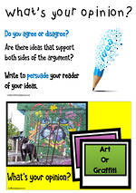 Exposition | Persuade | Visual Writing Prompts