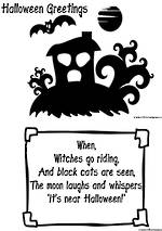 Halloween | Greeting | Rhymes