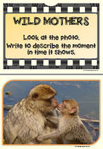 Describe |  Wild Mothers | Visual Writing Prompts