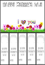 Mother's Day | Portrait |  Bookmark