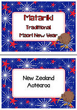 Matariki |Traditional Maori New Year | Writing Prompt