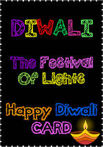 Diwali | Greeting Card | Template