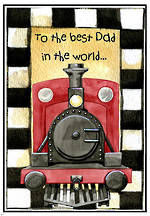 Father's Day | Train Card | Writing Prompt