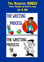 The Writing Process  | Colour -  Black and White | BUNDLE