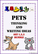 Pets | Critical & Creative Thinking | Writing Prompt | BUNDLE