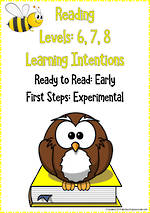 Reading Progressions | Levels 6, 7, 8 | Learning Intentions