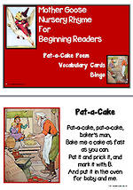 Mother Goose | Pat-a-Cake | Emergent Readers