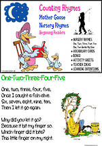 Nursery Rhyme | Counting Rhymes | Emergent Reading  Activities