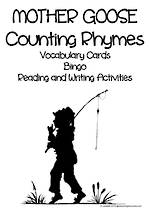 Mother Goose | Counting Nursery Rhymes | Reading Activities
