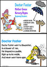Nursery Rhyme | Doctor Foster | Emergent Reading  Activities