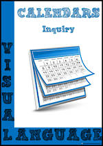 Visual Language | Calendar | Inquiry