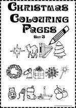 Christmas | Colouring Pages | Card Making | Writing Prompt | Set 3