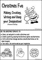 Christmas Fun | Making - Creating - Writing | Visual Language