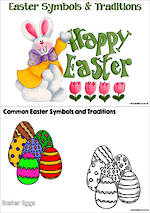 Easter | Traditions and Symbols | Inquiry | Colouring Pages