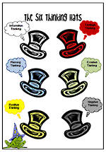 The Six Thinking Hats | Chart