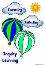 Inquiry Based Learning | Hot Air Balloon | Classroom Display
