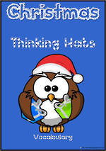Christmas | Santa Thinking Hats