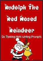 Christmas | Rudolph the Red Nosed Reindeer | Critical & Creative Thinking | Writing Prompts
