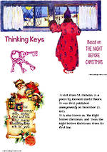 Christmas | The Night Before Christmas | Thinking Keys |  For Creative Thinkers