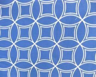Geo blue 140 c.m. wide