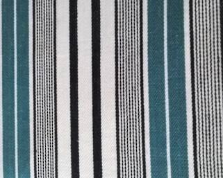 Designers Guild pin stripe /teal