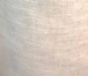 semi sheer twill linen