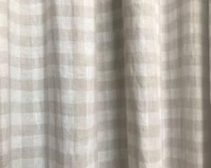Checked Linen