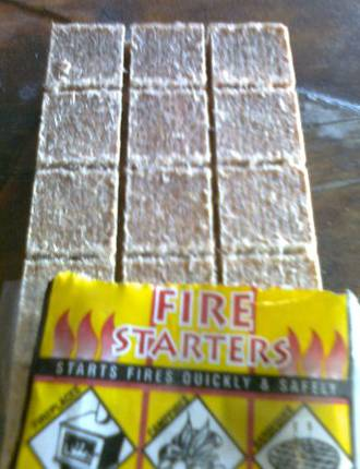 Firestarters - Pack of 32 - (In store or Click and Collect)