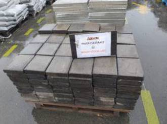 Grey Pavers $2 each RUN OUT SPECIAL WHILST STOCKS  LAST