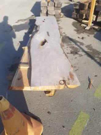 Macrocarpa Slabs 2.2 to 3.2 metres long (Phone to order)