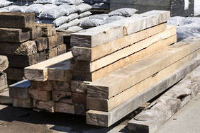 Macrocarpa Sleepers 2.1m (Enquire only)