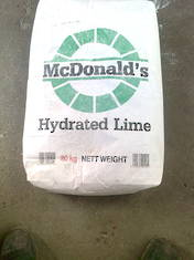Hydrated Lime - 20kg bag (Click and Collect)