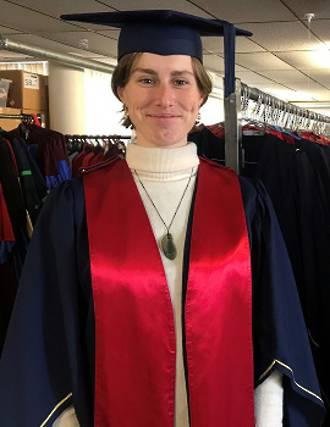 OPAIC Masters Degree Hood