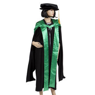 Hood - Higher Doctoral Hood and Fronts