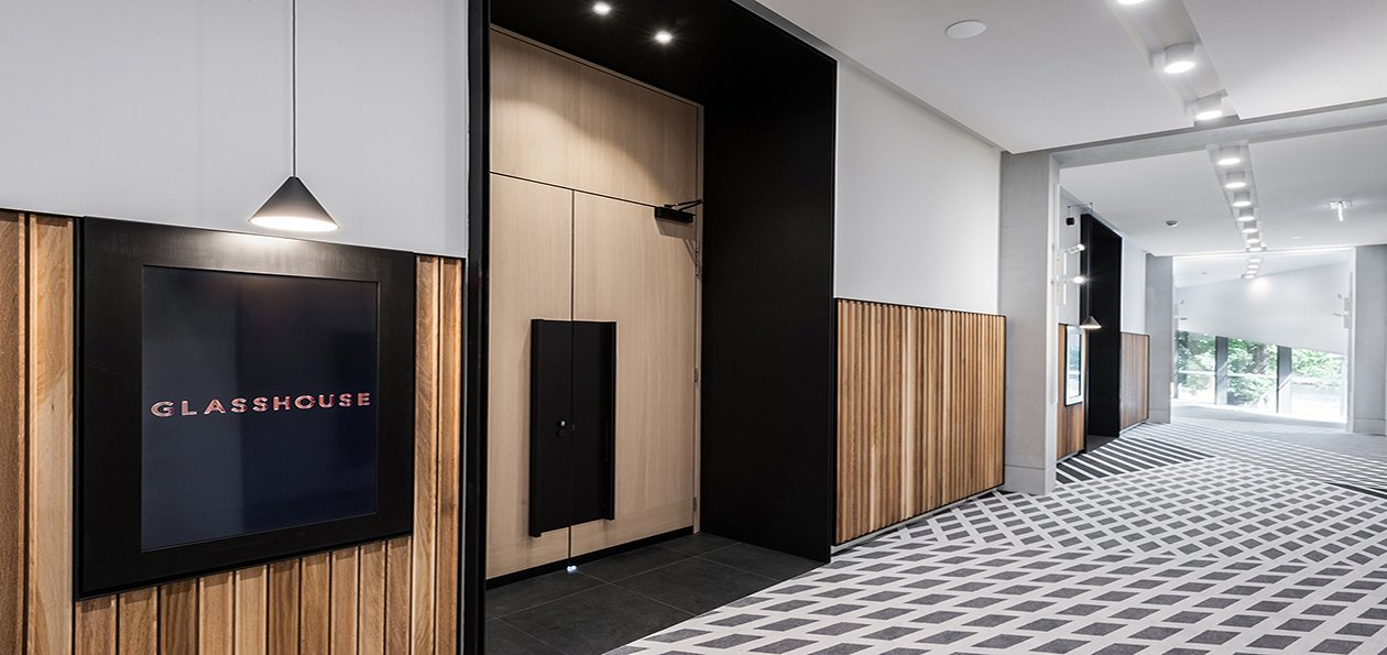 Olympic Park Veneer Doors with Headpanel