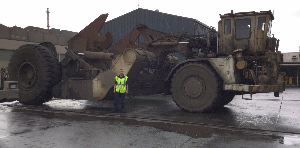 SteelServ ladle carrier photo