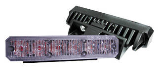 AS6G Ultra-Slim LED Strobe Lighthead, Grille Mount