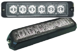 AS6P LED Strobe Lighthead, Surface Mount