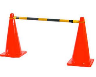 Extendable Cone Barrier Bar - 1.2 - 2.1m