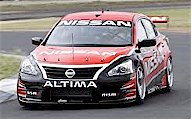 The V8 Supercars Nissan Altima