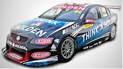 The Holden Commodore V8