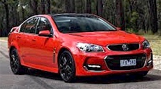 The Holden VF Commodore