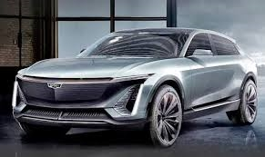 The Cadillac Lyriq SUV