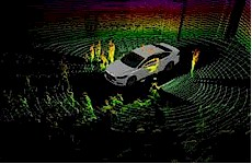 The LiDAR Ford Fusion