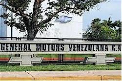 Venezuela GM Plant